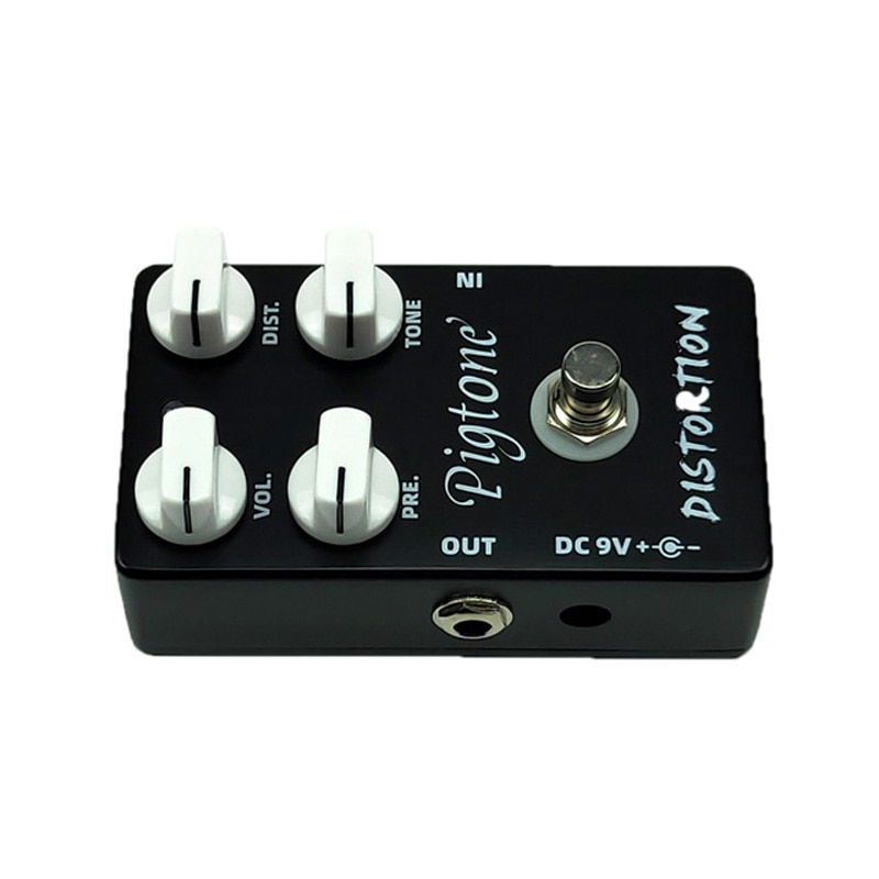 Pigtone PP-05 Distortion Guitar Effect Pedal Acoustic Electric Guitar Accessories Effects Pedals Real bypass enlarge