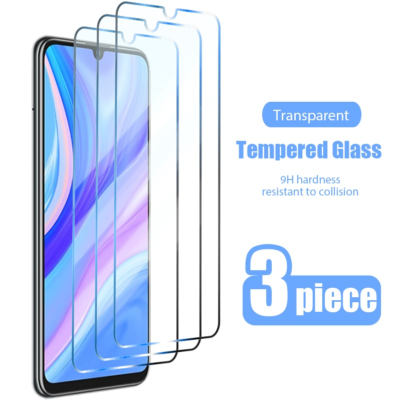 3PCS Tempered Glass for Huawei P Smart 2019 P Smart Z S 2021 Screen Protector Glass for Huawei P30 L