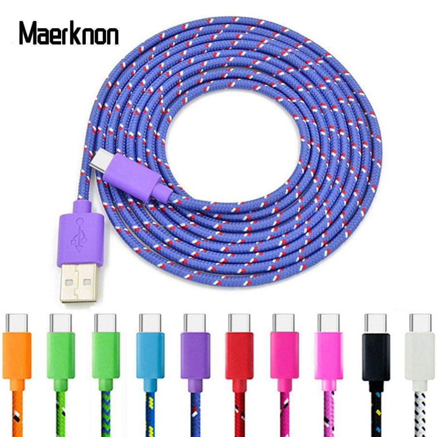 Cable USB tipo C de carga rápida, cargador de teléfono para Samsung...