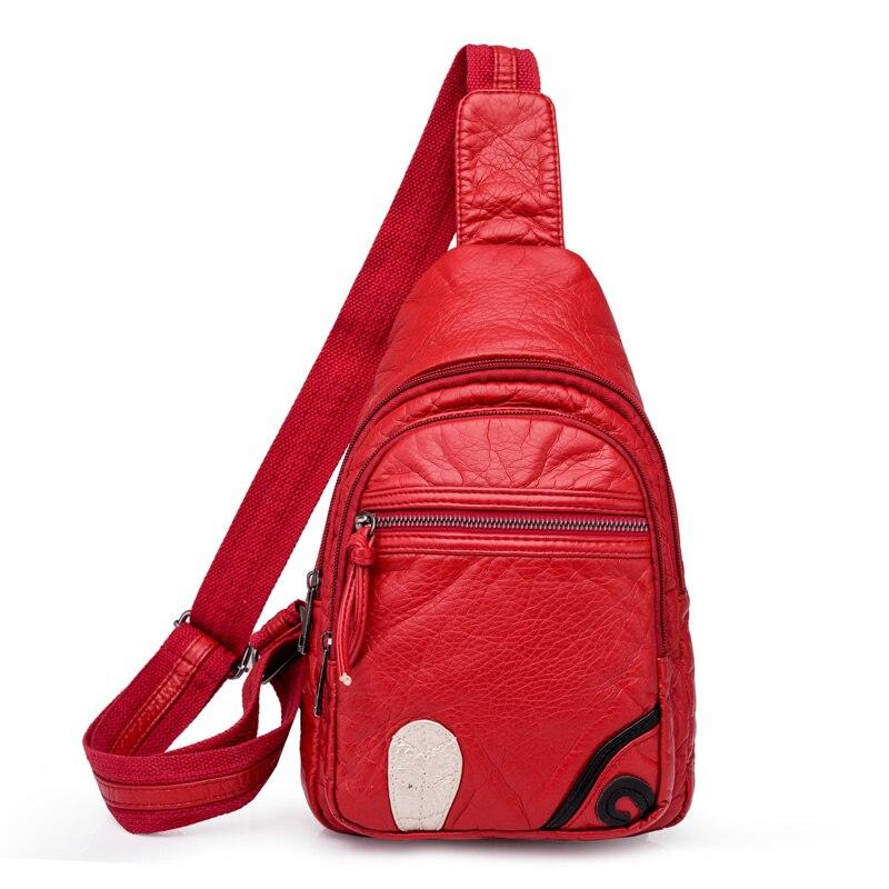 Маленькие женские рюкзаки из искусственной кожи Sac A Dos, повседневный дорожный женский кожаный рюкзак, винтажный рюкзак, нагрудная сумка, жен...