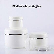 10 pièces bouteilles rechargeables voyage crème pour le visage Lotion pots pour récipient cosmétique en plastique vide maquillage Pot Pot 20/30/50/100/150/250g