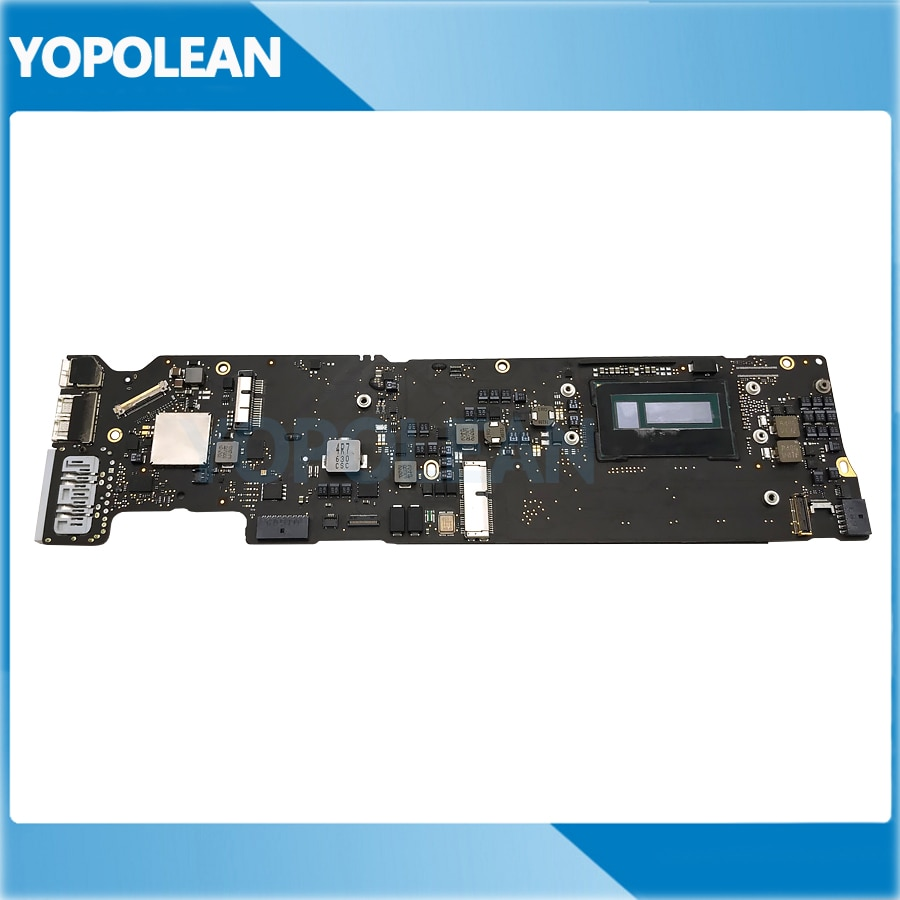 "Placa base probada A1466 para MacBook Air 13 ""A1466 placa lógica i5 1,6 GHz 4GB RAM 820-00165-A Early 2015"