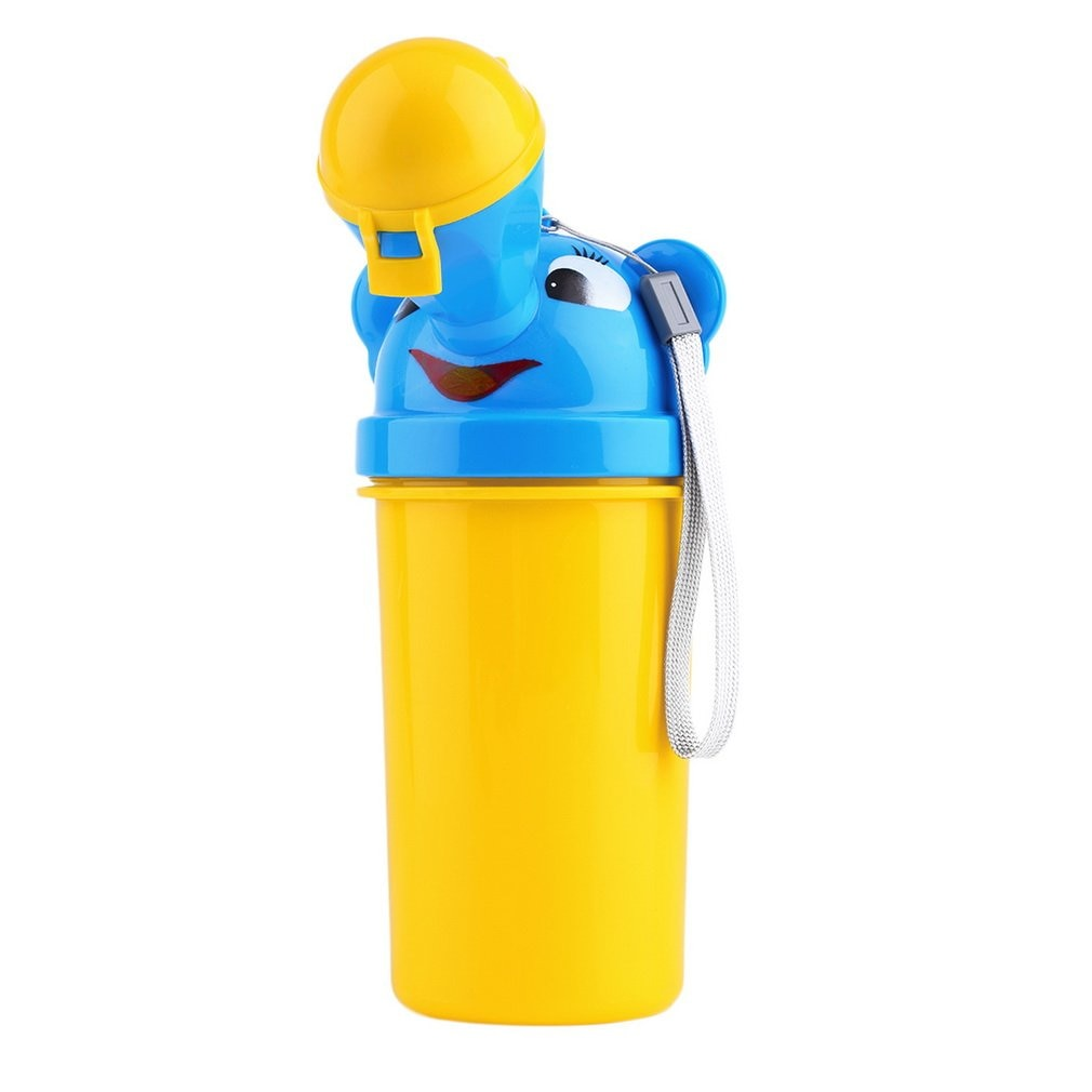 Coche portátil inodoro orinal bebé de niño niña al aire libre chico baño Vehicular formación orinal de dibujos animados a prueba de fugas conveniente herramientas