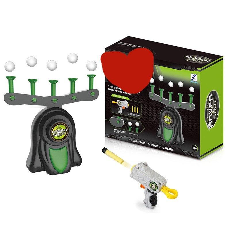 Objetivo de suspensión eléctrica para pistola de juguete tiro alto balas de pistolas de juguete objetivo para pistola de juguete