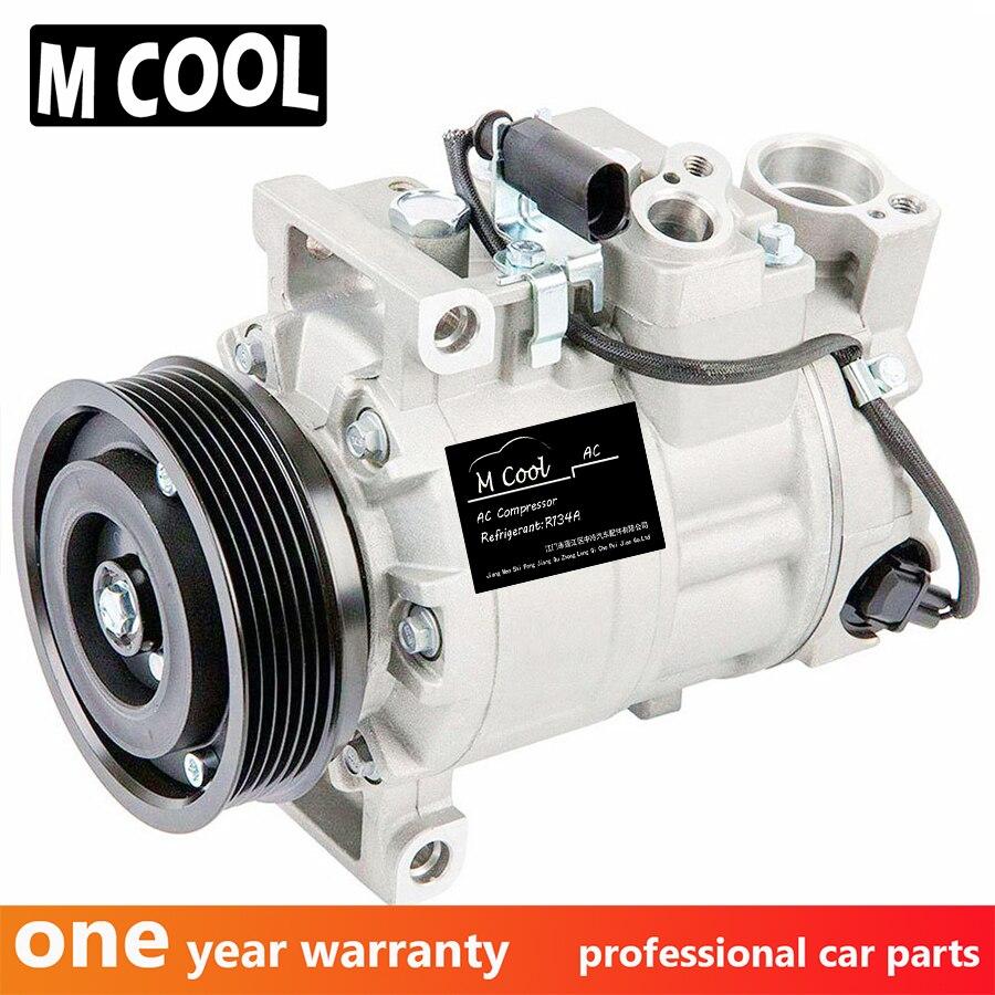 AC Compressor Para Audi Quattro A4 e A4 2.0L Gás 4F0260805AA 8E0 260 805 CB 8E0260805AG 8E0260805AT