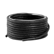 1 Pair Round Shoelaces Classic High Quality Waxed Cotton Waterproof Shoe laces Outdoor Leisure Leath