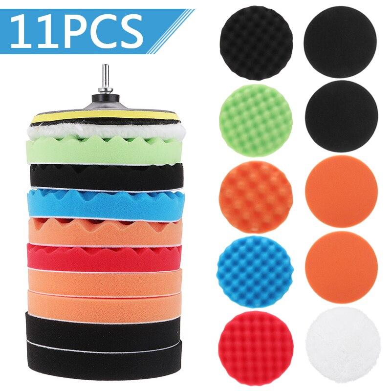 7'' Polishing Pad Sponge Polishing Pad Hand Tool Kit Power Tools Accessories Polishing Pads