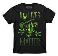 mens no lives matter t shirt aliens t shirt xenomorph t shirt