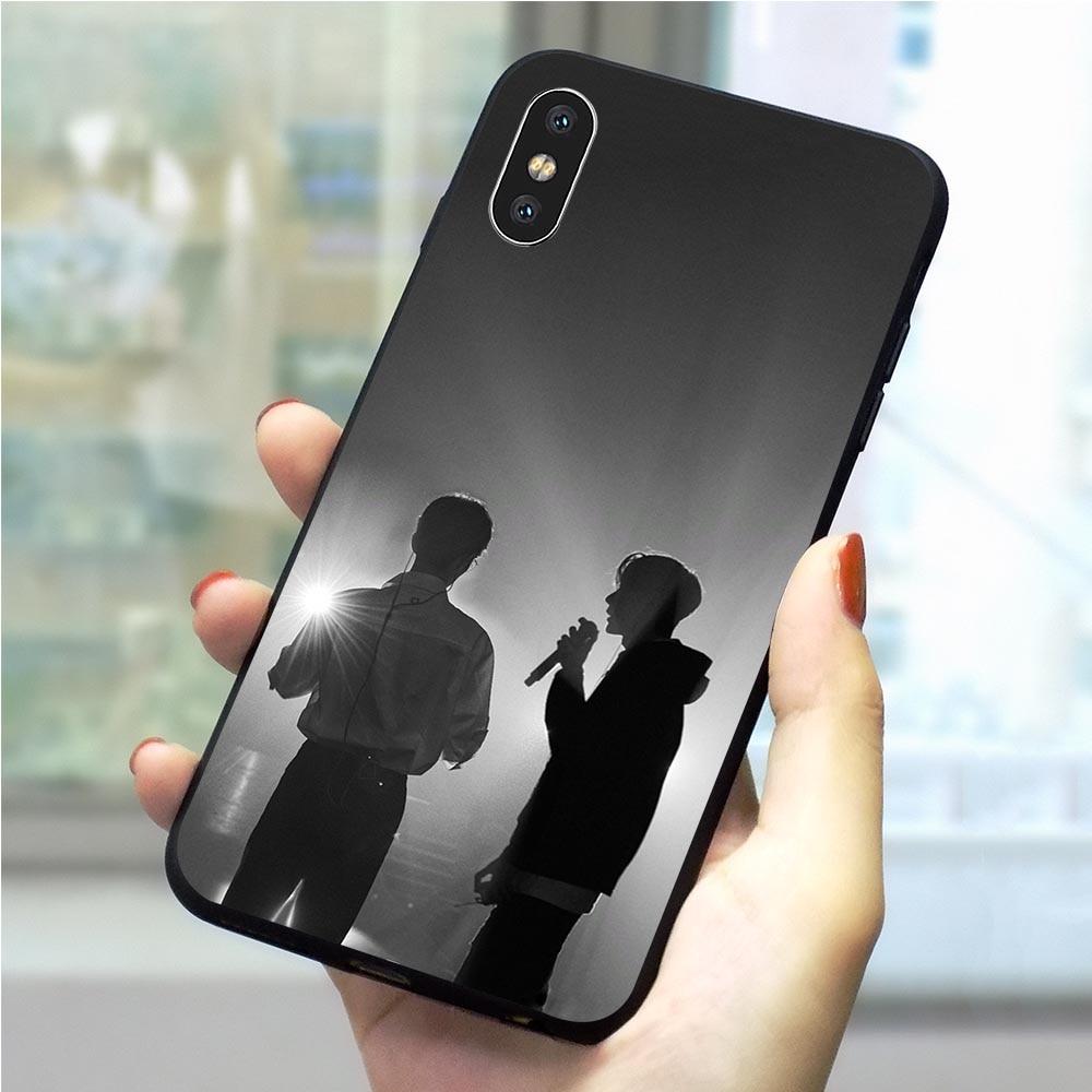 Чехол Xiao Zhan Wang Yibo для iPhone XR, Xs Max X 6 6S 8 Plus 7 5S 5 SE 11 Pro