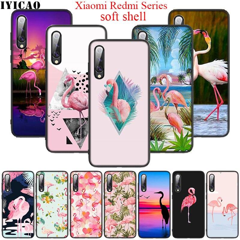 Flamingo Soft Silicone Case for Xiaomi Mi 6 8 9 SE 8 A2 Lite 9 A3 Pro F1 A1 5X A2 6X