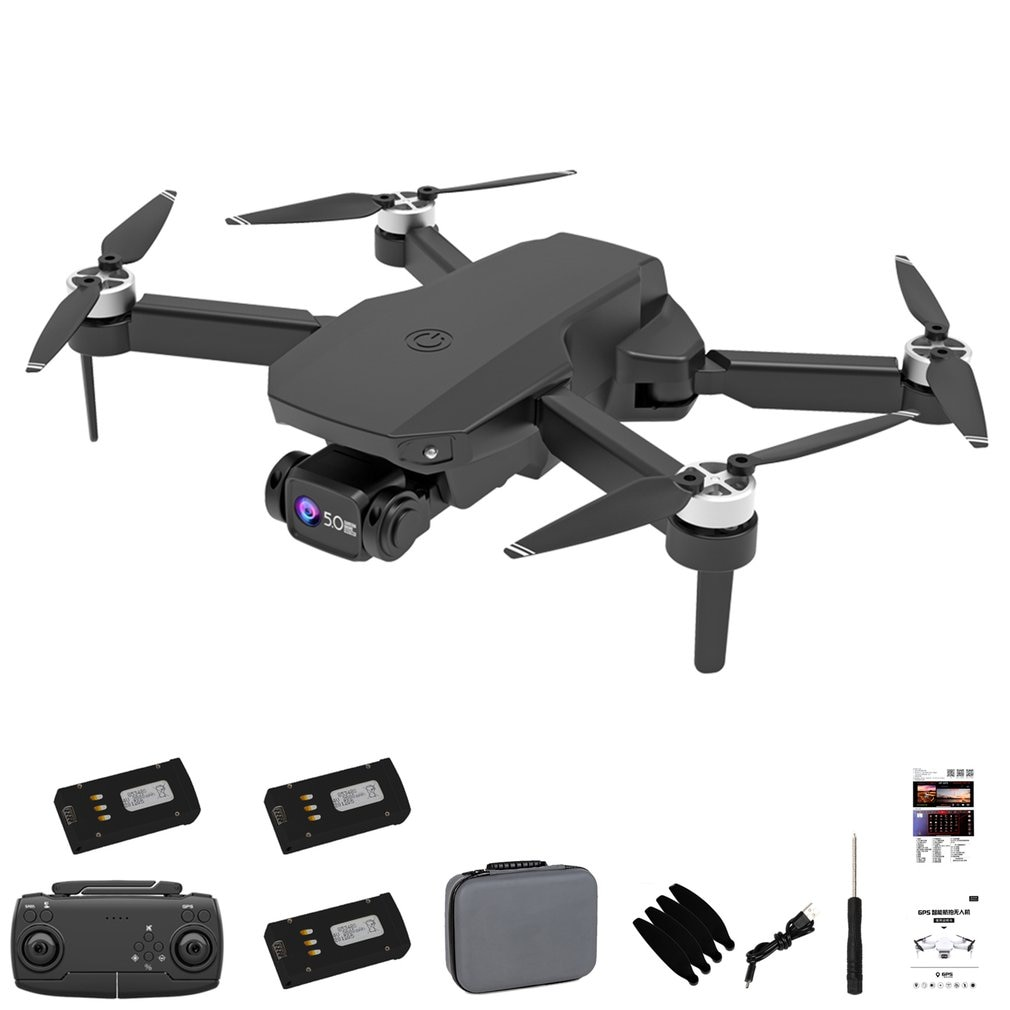2021 New CS003 Rc Drone Gps 5G Wifi FPV Dron Brushless Motor Positioning Optical Flow Dual Camera 6K HD Foldable Quadrocopter