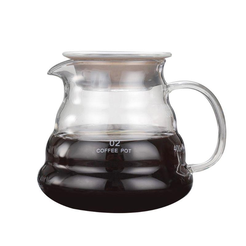 Despeje sobre café dripper vidro lento fabricação de cerveja acessórios para casa café restaurante q6pe