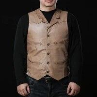 10010 super offer read description asian size super quality vest mens sheep leather vest mens sheep skin vest