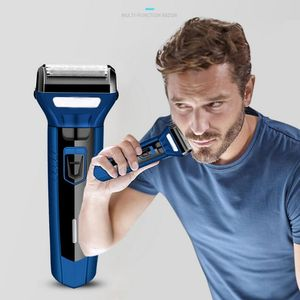 Cordless Electric Shavers Hair Clippers, Rechargeable Nose Hair trimmer for men Wet Dry Electric Shavers Men, Waterproof