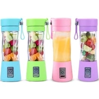 protable mini juicer cup single serve personal size blender usb rechargeable 380ml fruit mixing machine multifunction