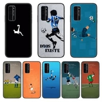 football phone case hull for huawei honor 8 9 10 20 30 a s lite pro 5g i black back soft cell cover pretty