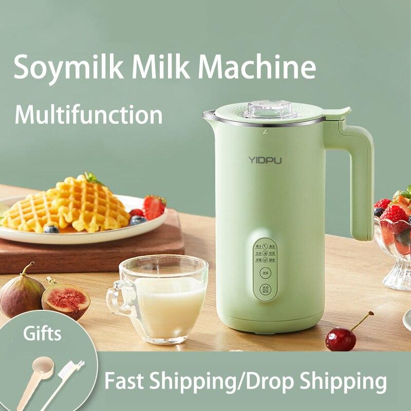 Соковыжималка для соевого молока многофункциональный автоматический нагревательный фильтр соевое молоко для веганов 400 мл портативный бл...