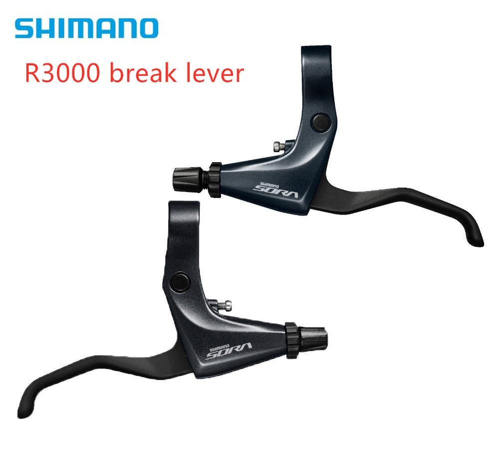 Shimano BL-R3000 22.2mm Flat Bar Road Bike Bicycle Brake Levers - Black