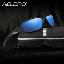 AIELBRO lunettes de cyclisme polarisées hommes femmes lunettes de soleil Sports de plein air escalade lunettes de pêche UV400 lunettes de conduite lunettes