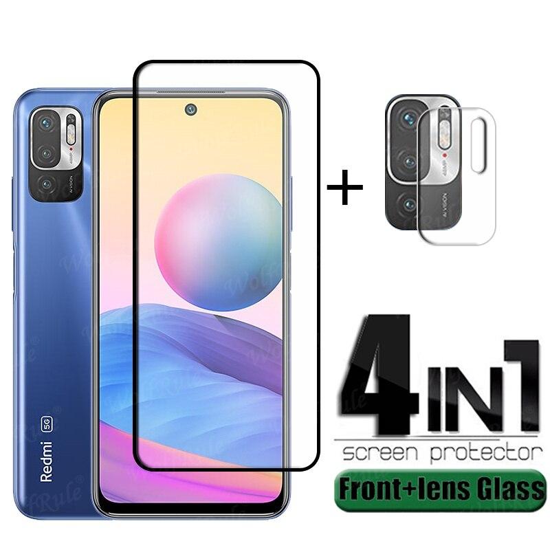 Volle Abdeckung Glas Für Xiaomi Redmi Hinweis 10 5G Glas Für Redmi Hinweis 10 5G Screen Protector Für redmi Hinweis 10 4G 5G Pro Objektiv Glas