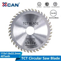 Диск для циркулярной пилы XCAN TCT, диаметр 115 мм, 40 зубцов