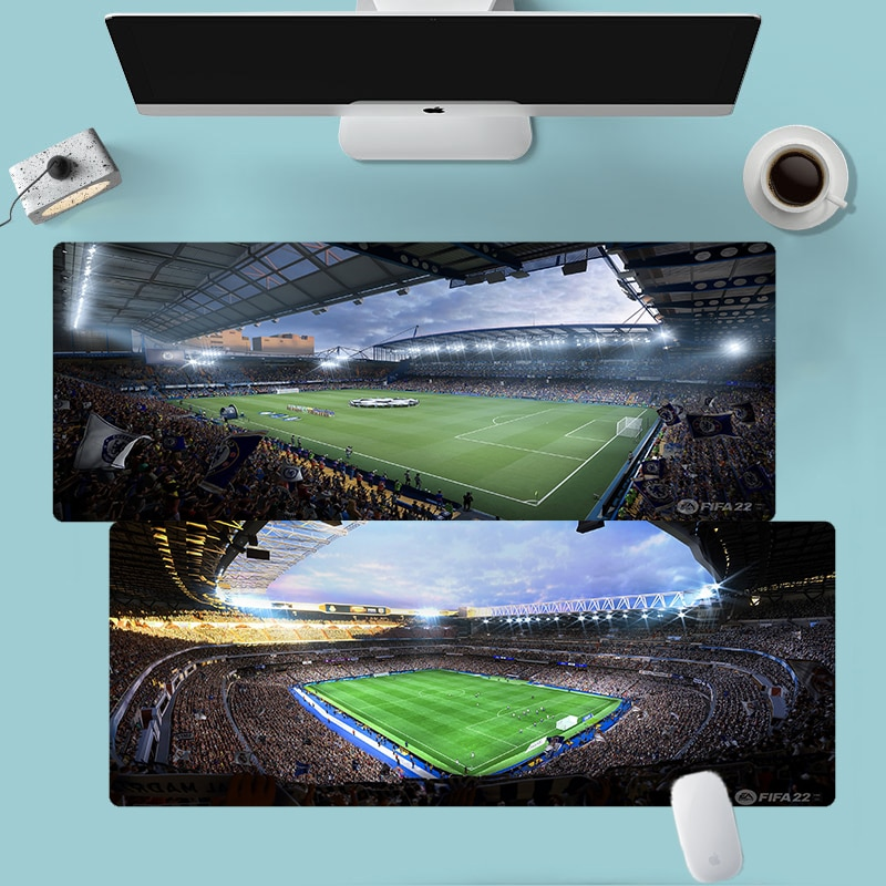 FIFA 22 Mouse Pad Gaming Desk Protector Cheap Laptop Mousepad Company Gamer Accessories Big Mousepad 900x400mm Anime Desk Mats