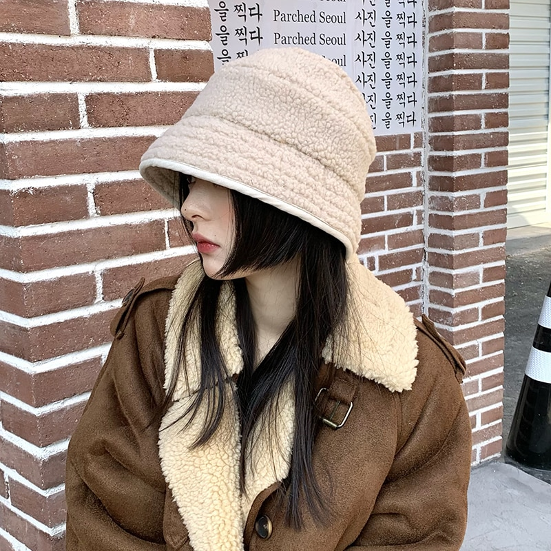 yang gao mao Hat Female Popular Brand Autumn and Winter Korean Style All-Matching Vintage Explicit F