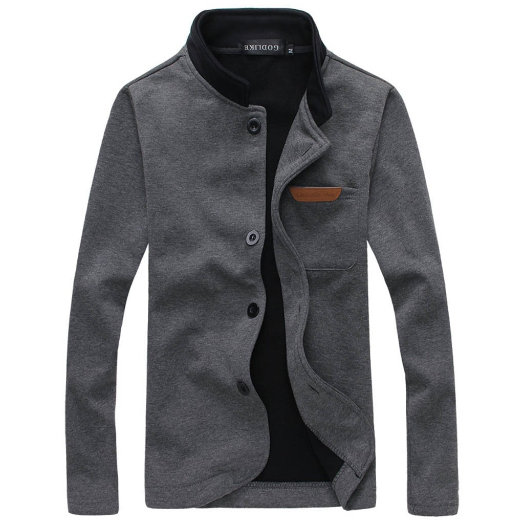 Masculino casual trench coat moda negócios longo casaco fino outwearautumn inverno menino trabalho na moda estilo