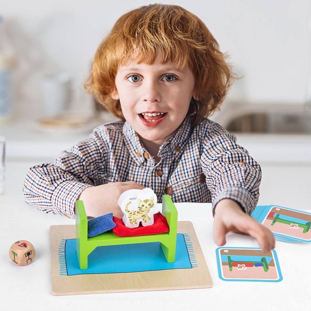 Фото - Развивающая игра «в поисках котенка», подходящие игрушки для детей, раннее развитие памяти, развивающая тренировка, ga Y5E1 говорящие слова развивающая игра для детей