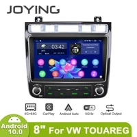 joying android 10 0 car radio player octa core 4gb64gb support 4g fast boot with dsp rds bt autoradio for volkswagen vw touareg