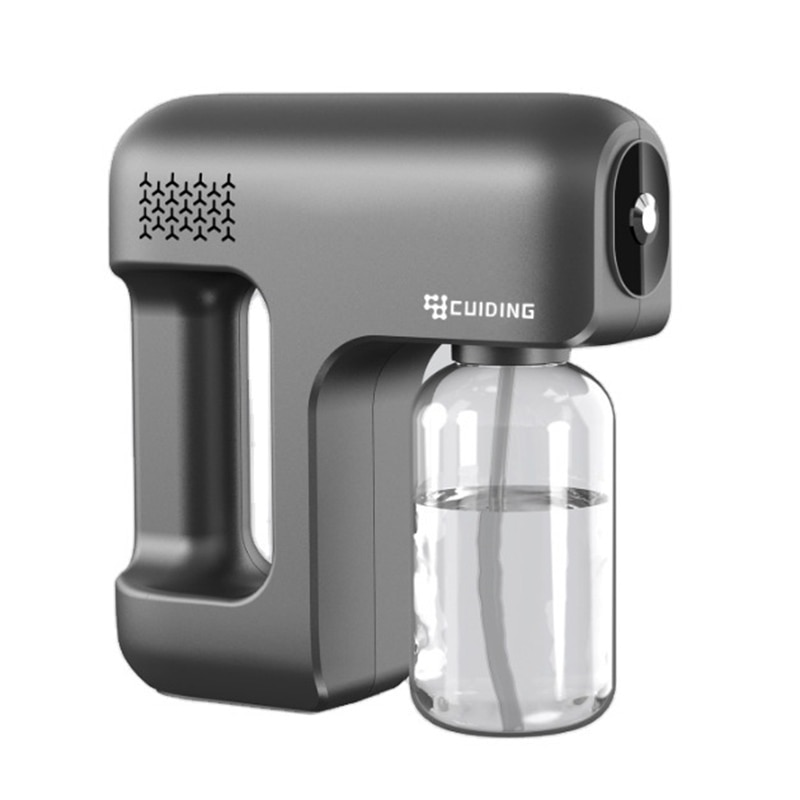 Household portable wireless handheld atomization disinfection fog machine fog machine blue light nano steam spray gun disinfecti