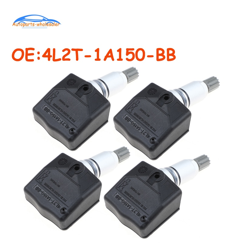 4 PCS Car For Ford Expedition Ranger Lincoln Mercury 4L2T-1A150-BB 4L2T1A150BB 4L2Z-1A150-BA TPMS Ti