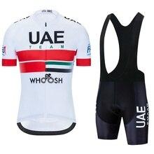 2021 Team UAE Radfahren Trikots Fahrrad kleidung Tragen Quick-Dry bib gel Sets Kleidung Ropa Ciclismo uniformes Maillot Sport tragen