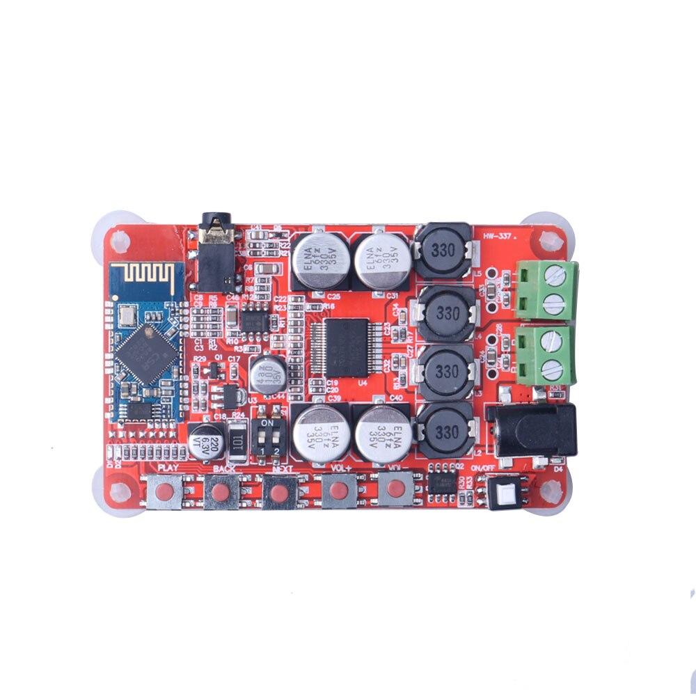 Tda7492p 25 w + 25 w bluetooth 4.0 receptor de áudio digital sem fio amplificador placa dc 8-25 v