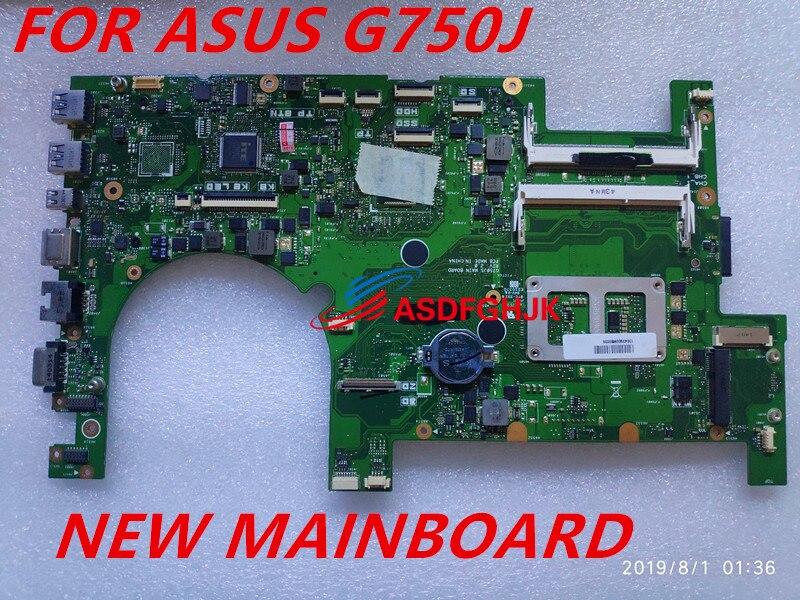الأصلي ل ASUS G750JS اللوحة الأم للكمبيوتر المحمول G750JS I7-4700HQ REV 2.0 اختبار جيد شحن مجاني