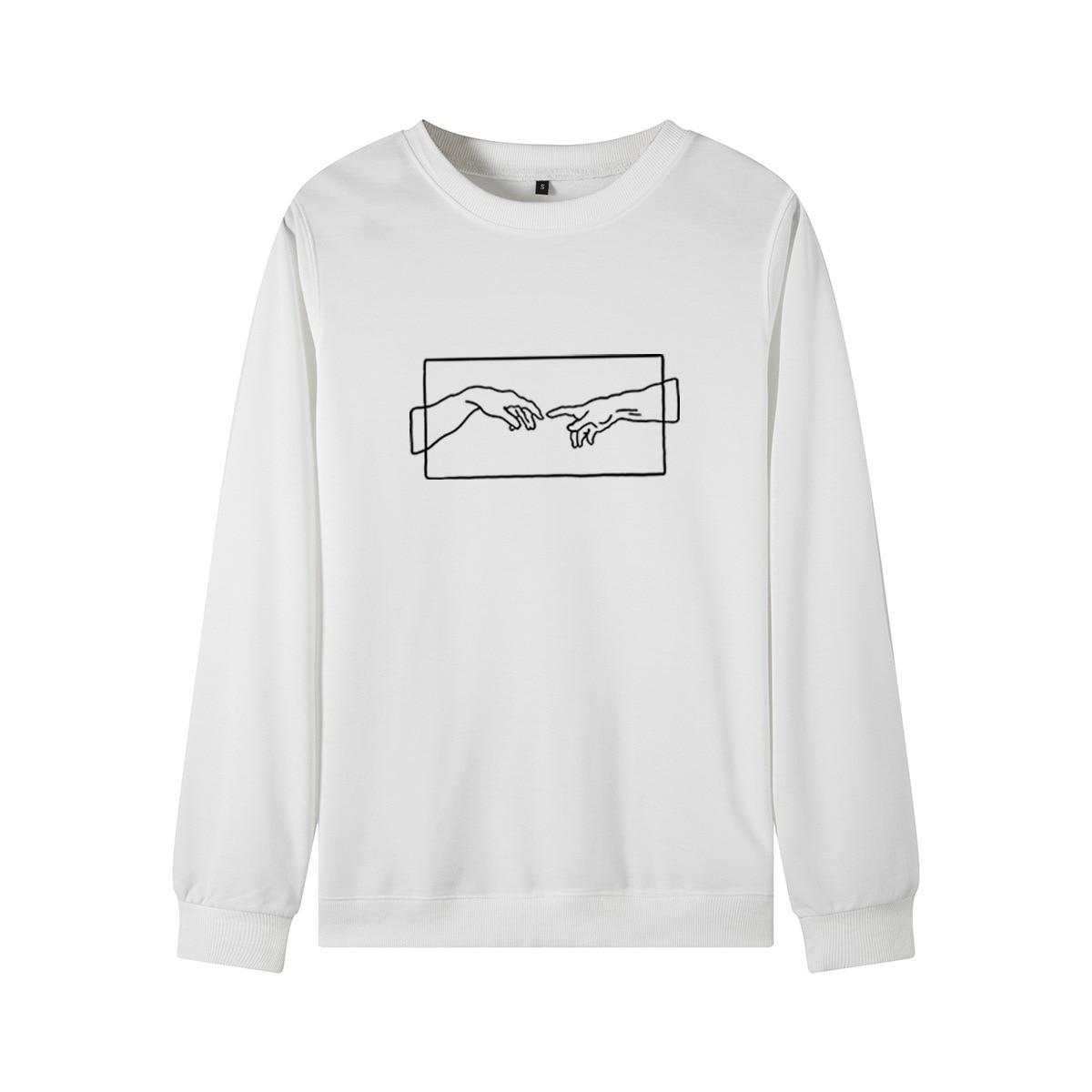 Lxs22 2020 novas senhoras casuais sweatshirts moda modelos populares requintado e confortável
