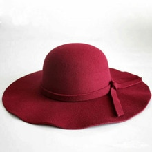 Women Vintage Solid Soft Foldable Sun Hat Lady Casual Wide Brim BeachTravel Floppy Fedoras