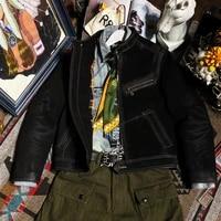 cd958 cidu asian size read description super quality genuine suede cow leather slim stylish biker jacket