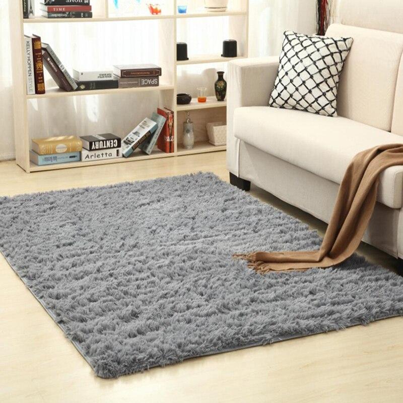 Living Room / Bedroom Carpet Non-Slip Comfort Carpet 160 Cm * 200 Cm Carpet Modern Carpet Mat Purple White Pink Gray 16 Color