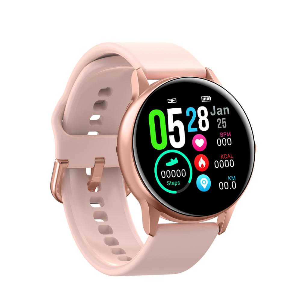 DT88 Smartwatch IP68 Waterproof Women Smart Watch Heart Rate Monitor Blood Pressure Remote Camera Multi-Sports Mode Fitness Band