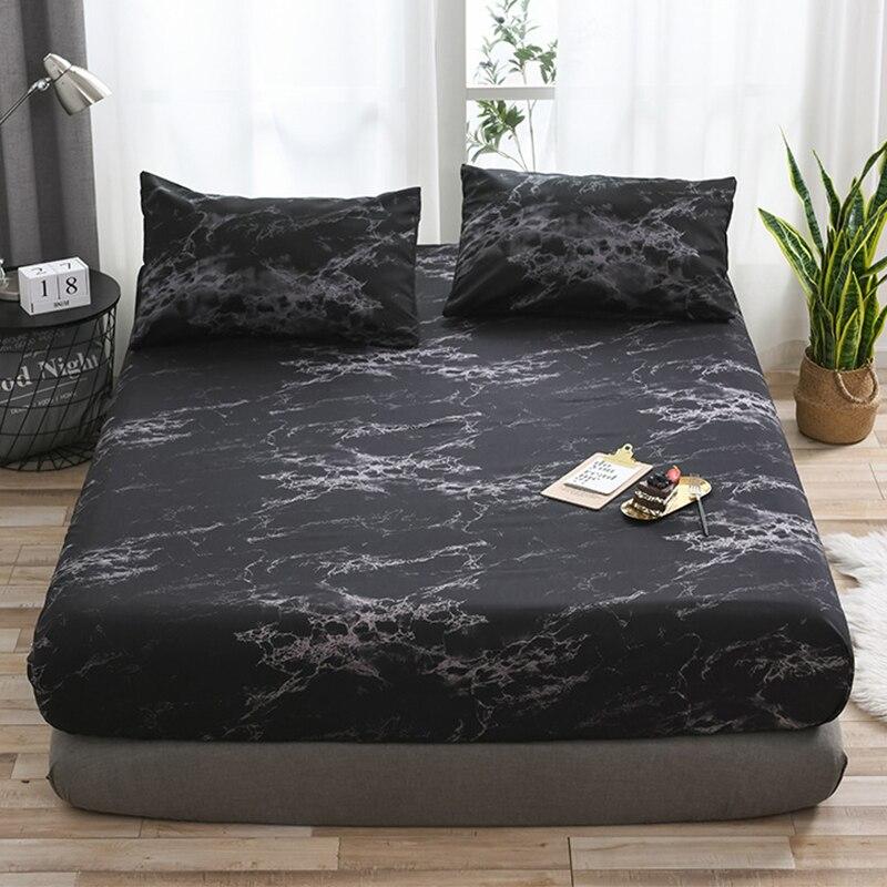 تمتد السرير صالح غطاء سرير المخدة غطاء الفراش غطاء مرتبة البوليستر رد الفعل الطباعة سيمونز عدم الانزلاق الغطاء الواقي