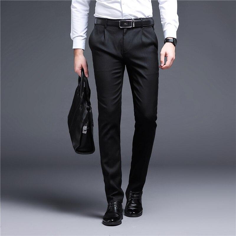 2021 новый дизайн мужские повседневные штаны Свободные весенне-осенние мужские штаны высокого качества с эластичной резинкой на талии, брюки...