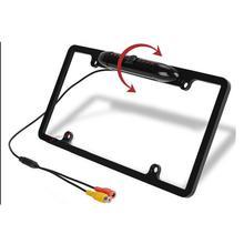 Caméra de voiture américaine cadre de plaque dimmatriculation support de plaque dimmatriculation pratique multifonctionnel caméra plaque dimmatriculation