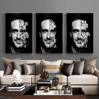 celebrity inspirational quotes abstract painting canvas painting oil painting poster modern wall art in livingroom home decor