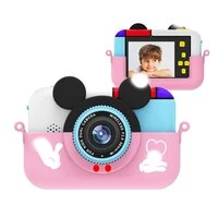 x10 kids mini digital camera 2 4 inch ips screen 1080p hd video selfie mini slr kids toy camera birthday gift camara kids photo