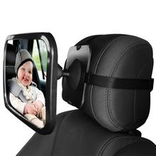 Rétroviseur de rétroviseur de siège arrière   Pour siège arrière de voiture de bébé, rétroviseur de siège de voiture pour bébés enfants, moniteur de sièges arrière