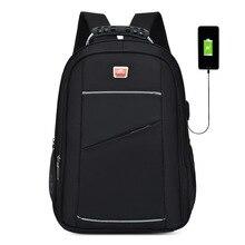 Mochila SUUTOOP de gran capacidad para hombres, mochila Oxford de 15,6 pulgadas, mochila escolar multifuncional con USB para ordenador portátil, mochila escolar de viaje para hombre