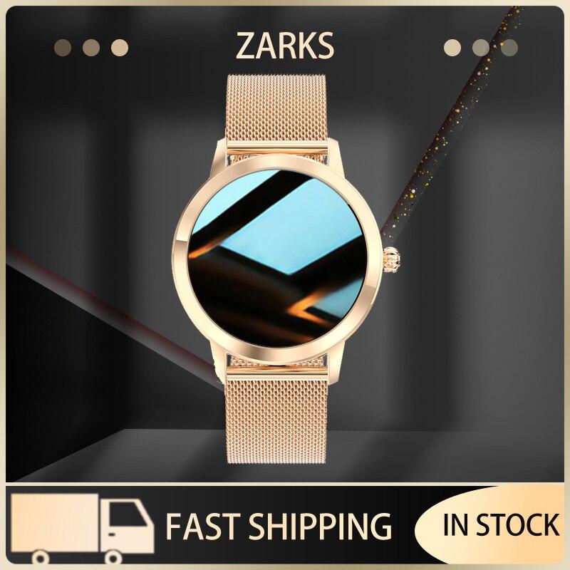ZARKS جميل LW10 ساعة ذكية للنساء IP68 مقاوم للماء معدل ضربات القلب عداد الخطى رسالة Smartwatch الاتصال ل شاومي أندرويد IOS
