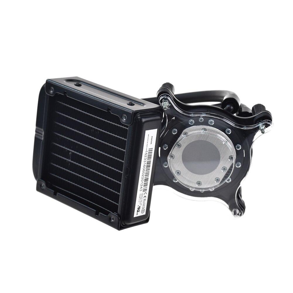 For HP LGA1366 2011 1150 1151 Desktop Computer Water Cooling Radiator 714256-001 enlarge