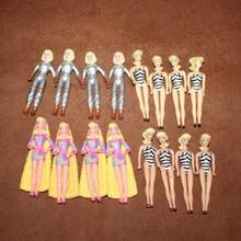 10pcs/lot Anime Action Figure Doll Mini Bikini Girl 7CM Long Hair Girl Toys Birthday Gift Model Toy Hobby Collections